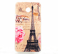 Back Cover Pattern Eiffel Tower TPU Soft Case Cover For Huawei Other