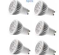 6pcs MORSEN® GU10 5W 350-400LM Support Dimmable Light LED Spot Bulb(110V)