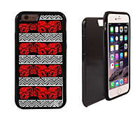 Elephant Design 2 in 1 Hybrid Armor Full-Body Dual Layer Shock-Protector Slim Case for iPhone 6 Plus