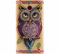 For Nokia Case Pattern Case Back Cover Case Owl Soft TPU Nokia Nokia Lumia 630