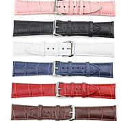 Apply 38mm the Second Floor Leather and The Crocodile Grain Classic Buckle Strap Band for Apple watch(Assorted Colors)