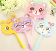 Cute Fan Style BallPoint Pen (Random Color)