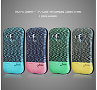 Color Spot Protecting Cell Phone Case for Samsung Galaxy S3 Mini