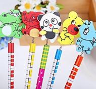 Cartoon Wood Pencil (Random Colors)