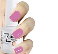 LIBEINE 1pc Soak Off 15 ML UV Gel Nail Polish Color Gel Polish 007# Moth Orchid