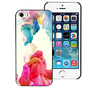 colorido caso duro alumínio de design para iphone 5c
