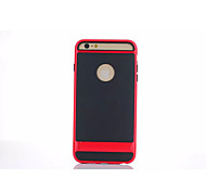 4.7 Inch Black Shield TPU Back Cover for iPhone 6 (Assorted Colors)