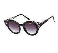 hombres/mujeres/Unisex 's 100% UV400 Redondo Gafas de Sol