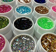 36PCS Glitter UV Color Gel