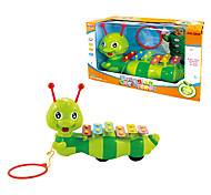 Educational Baby Toys Dragging Caterpillar with Xylophone