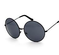 Sunglasses Women's Fashion Round Black / Silver / Gold Sunglasses Full-Rim