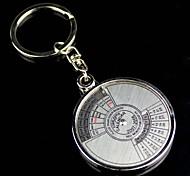 Alloy Infinite Particular Year Calendar Key Chain