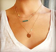 Alloy Necklace Statement Necklaces Party/Daily/Casual 1pc