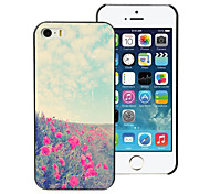 Lovely Flower Design Aluminum Hard Case for iPhone 5C