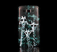 giraffe patroon deksel fo Samsung Galaxy Grand 2 g7106 case