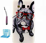 For Samsung Galaxy Case Pattern Case Back Cover Case Dog TPU Samsung A3