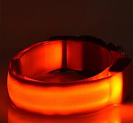 Colliers - Chiens - Lampe LED - Couleurs Aléatoires - en Nylon -