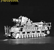 Germany Carle Train Gun 3D Solid Metal Model Cars Assembled Toys Puzzle Puzzle Adult Children