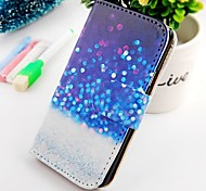 Floating Dot Turn Around Wallet Stand PU Leather Case For Samsung Galaxy S2 SII I9100