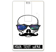 Personalized USB Flash Drive Cool Skull Design 64GB Card USB Flash Drive