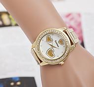 signore di vendita orologi delle donne del quarzo Swiss Diamond lega guarda la vigilanza d'acciaio di modo