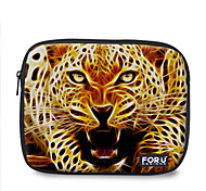 "For U Designs 10"" Fire Series/Leopard Laptop Sleeve Case for Ipad"
