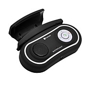 car kit vivavoce bluetooth agganciato alla volante dell'automobile, Bluetooth 3.0 + EDR può supportare due telefoni contemporaneamente