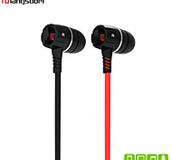 Langsdom EH350 Mobile Phone Earphone In-Ear Earbuds Volume Control Earphone with Mic for   Galaxy S4 S5 Iphone 5s 6 Plus