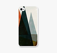 Mountain Type  Pattern Pc Phone Case Back Cover Case for iPhone5/5