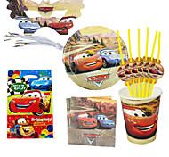 40pcs carros bebê decorações da festa de aniversário crianças evnent fontes do partido decoração festa de 6 pessoas usam