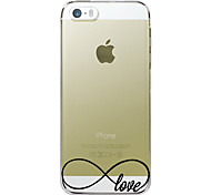 Love Pattern Hard Case for iPhone 5C