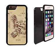 Vintage Camera Design 2 in 1 Hybrid Armor Full-Body Dual Layer Shock-Protector Slim Case for iPhone 6