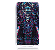 Elephant Pattern TPU Soft Back Cover Case for LG G4