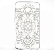 Round Printing Pattern TPU Material Soft Phone Case for Samsung Galaxy Core 2 G355H/G3558/G3559