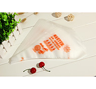 100Pcs Plastic Disposable Icing Piping Pastry Bag Cake Sugarcraft Cupcake Decorating Bags - Small Size