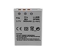 900mah batería para Olympus li-80b /min.np-900