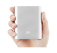 banco de la energía material metálico Xiaomi 10400ma para Xiaomi / manzana / samsung / otros teléfonos celulares