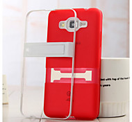 For Samsung Galaxy Case Transparent Case Back Cover Case Solid Color TPU Samsung Core Prime
