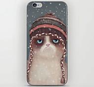 christmas cat Muster zurück Fall für iPhone 6