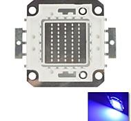 diy 50w azul cor de chips lâmpada de poupança de energia de alta potência levou módulo (dc30-34v)