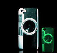 Camera Pattern Glow in the Dark Cover for iPhone 4 / iPhone 4 S Case
