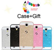 bling bling de couverture de cas pour samsung i9500 l'(couleurs assorties)