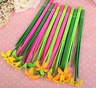Murraya Paniculata Flower Style Gel Pen Set(12 PCS/Set)(Random Color)