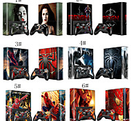 Skin Decal Spideman for Xbox 360 E Gaming Console & Controller Sticker Design