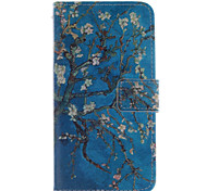 For Motorola Case Wallet / Card Holder / with Stand / Flip Case Full Body Case Tree Hard PU Leather Motorola