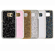 Luxury Set Auger Pattern Back Cover Case for Samsung Galaxy S6 Edge (Assorted Colors)