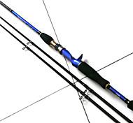 Vara de Pesca de Lançamento / Cana de pesca Vara de Pesca de Lançamento Metal / Plástico Duro / EVA / Composto de Carbono 180 MPesca