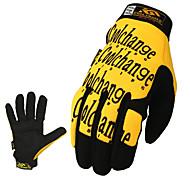 Coolchange Rad Anti-Blockier-gelben Vollfinger-Handschuhe
