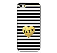 The Love Design Aluminum Hard Case for iPhone 5C