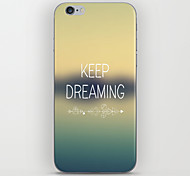 Keep Dreaming Pattern Back Case for iPhone 5/5S